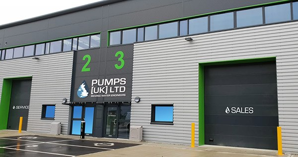 New Pumps UK Headquarters in Rochester