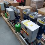 Three Booster Pumps ready to ship