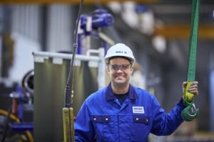 Sulzer Staff in factory