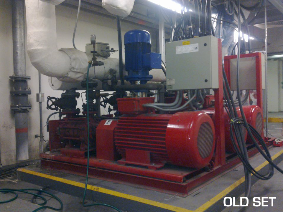 Old Pump System