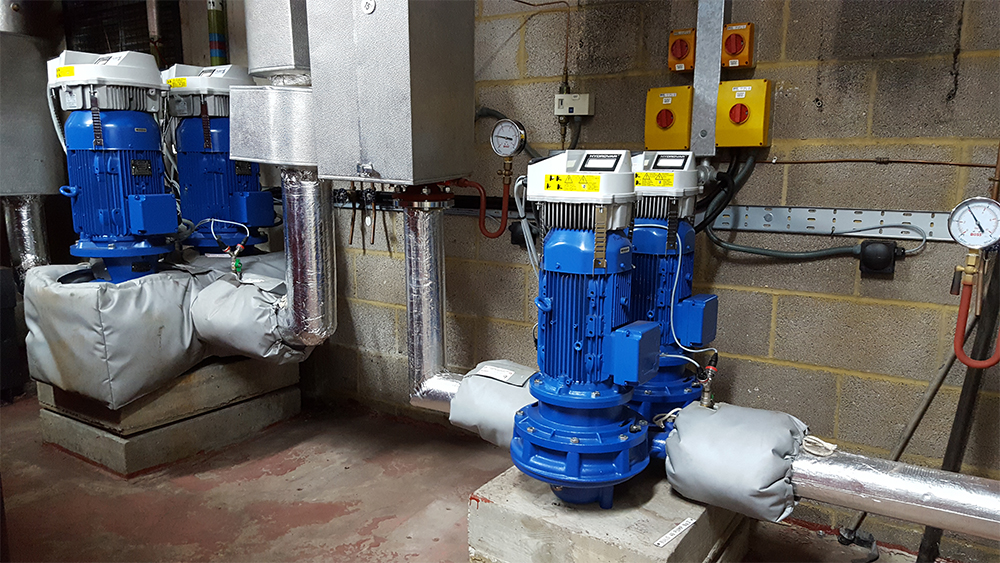 Pumps UK neat Lowara Installation
