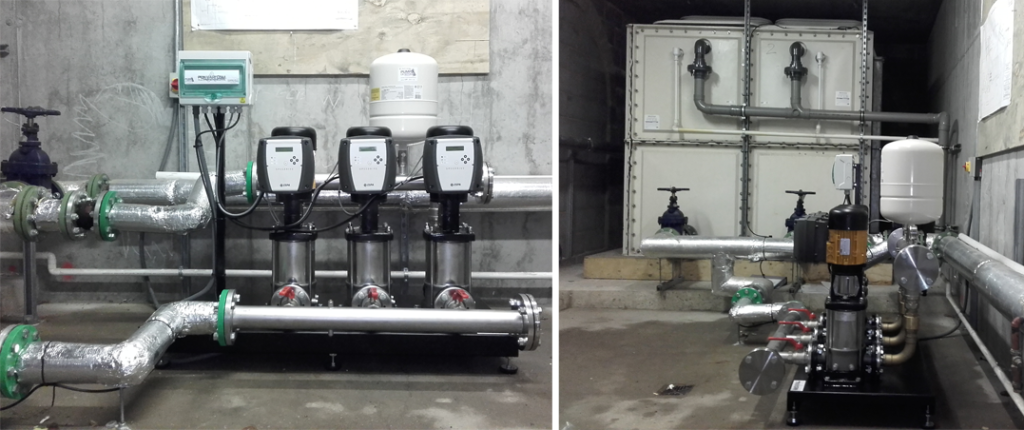 ESPA Booster Pump Installation