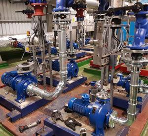Lowara Pump Installation