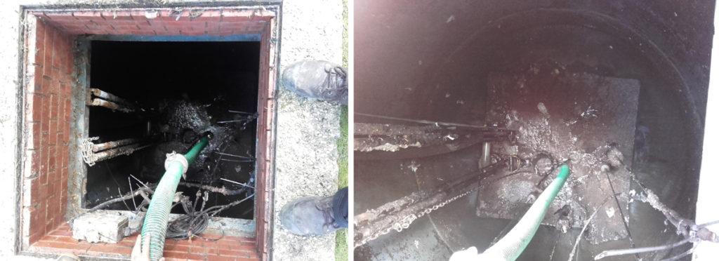 Sewage Pit, not Pretty!