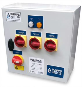 PUK VARI COM Control Panel