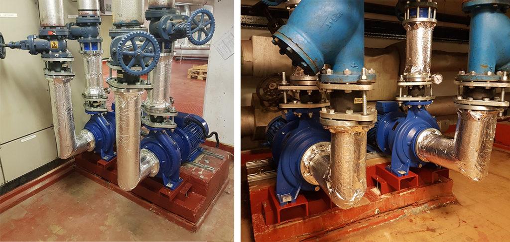 Lowara Installation NSCS