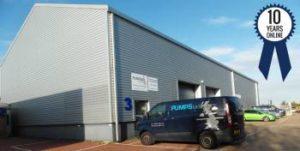 Previous Pumps UK HQ in Dartford